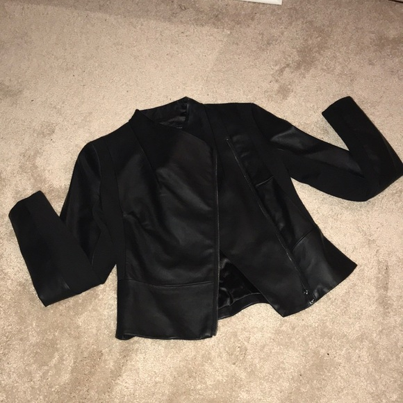 French Connection Jackets & Blazers - NWT FRENCH CONNECTION Faux Leather Jacket